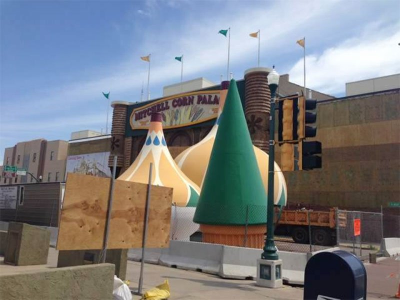 Mitchell Corn Palace renovations