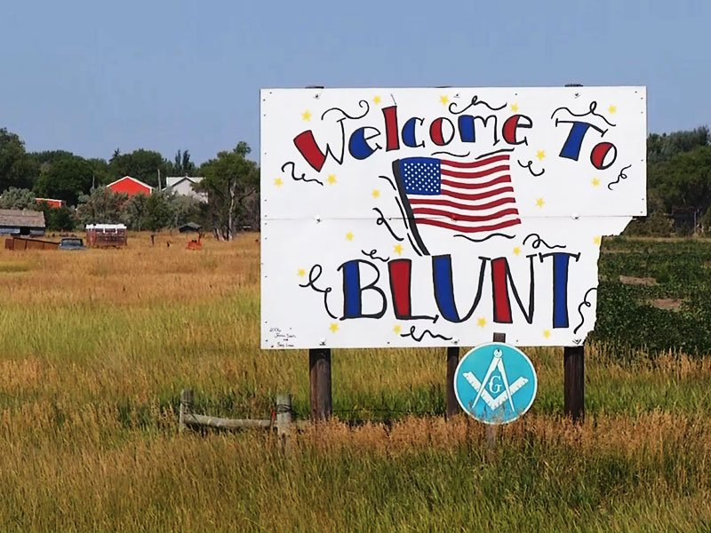 blunt, south dakota