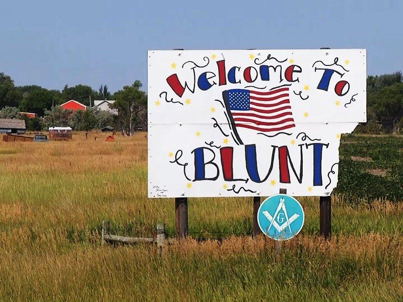 blunt, south dakota