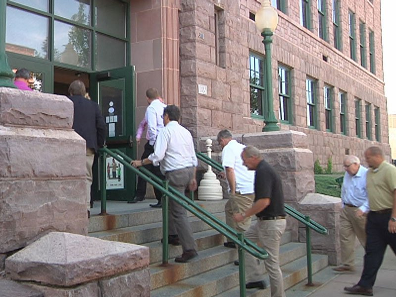 fargo city leaders tour sioux falls