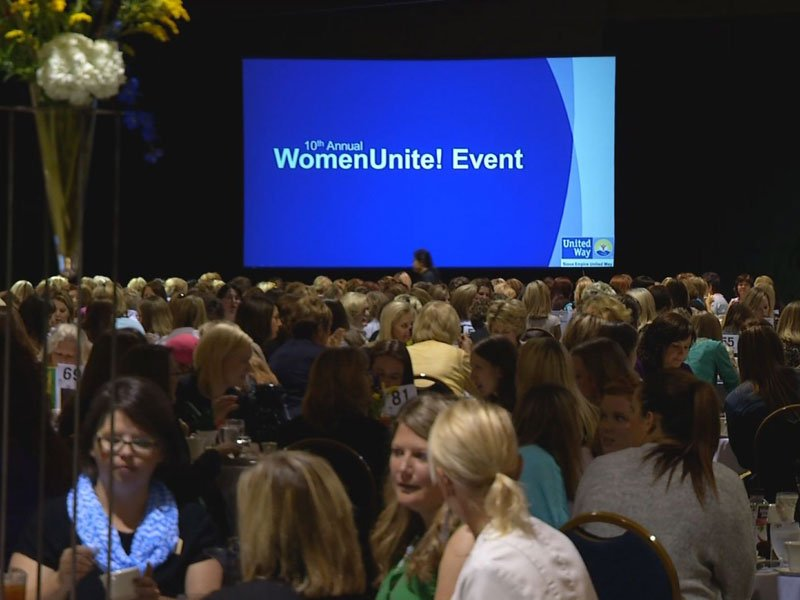 united way luncheon women unite