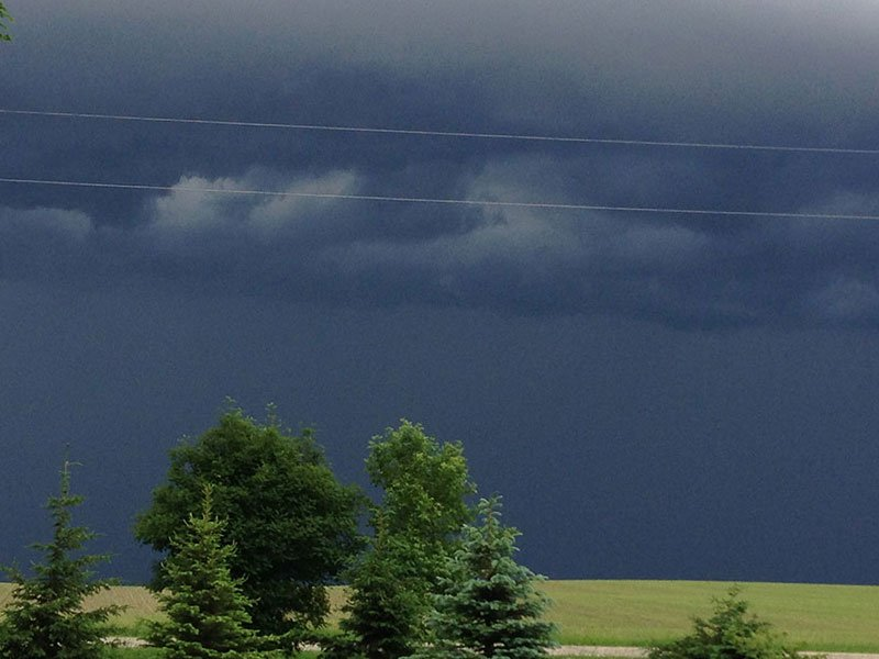 summer storm clouds Garvin, MN ushare