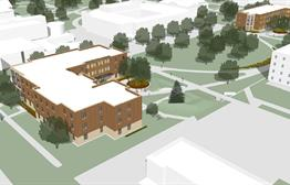 Two New Dorms At Northern State