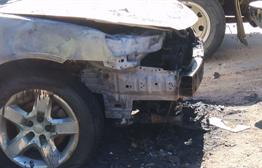 Video Catches Suspect Starting Car On Fire