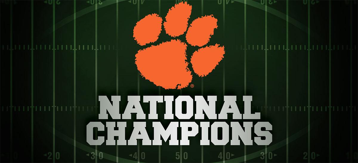 Clemson Football National Champions