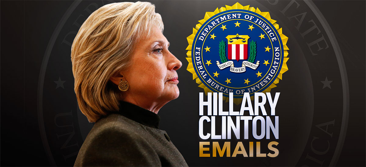 Αποτέλεσμα εικόνας για JAIL TIME? Hillary Clinton Email Criminal Investigation to Reopen