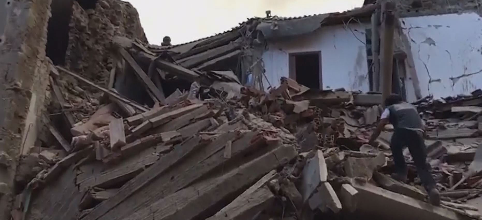 At Least 38 Dead As Strong Earthquake