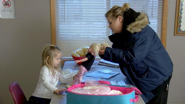Sioux Falls Firefighters Give Gifts To Single Homeless Mother