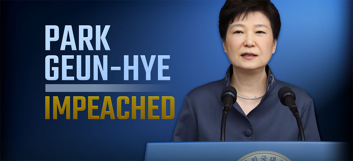 South Korean President Impeached In Stunning Fall
