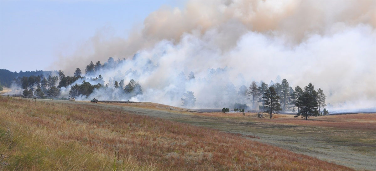 Rankin Wildfire Courtesy: Great Plains Fire Information