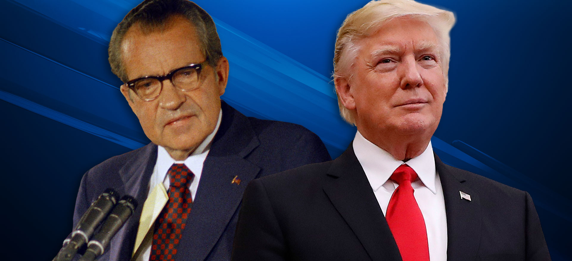Richard Nixon Donald Trump