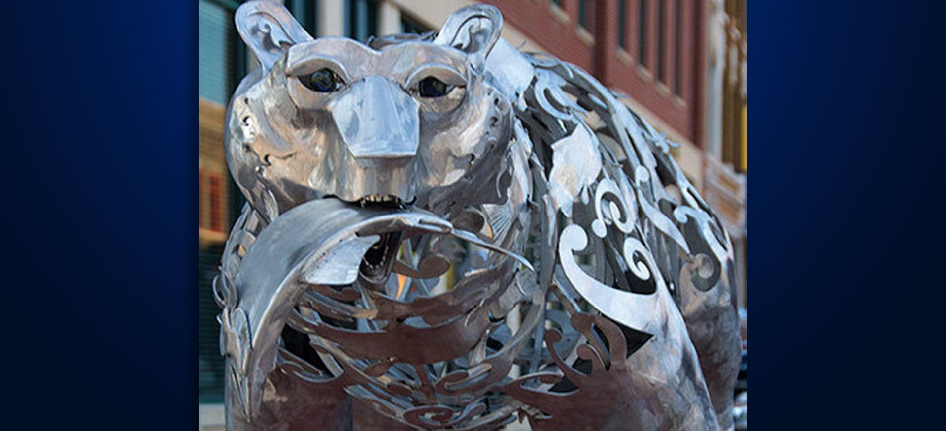 SculptureWalk Salmon Run