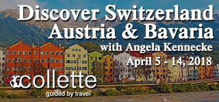 Travel to Switzerland with Angela Kennecke