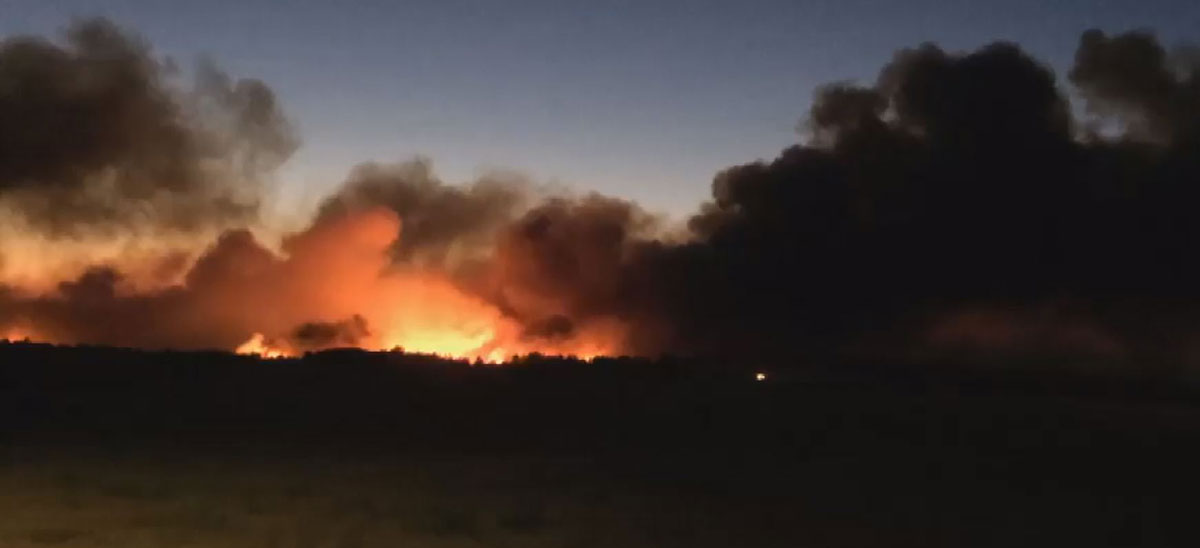 Wanblee Wildfire