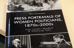 Local Author Focuses on Portrayals of Female Politicians