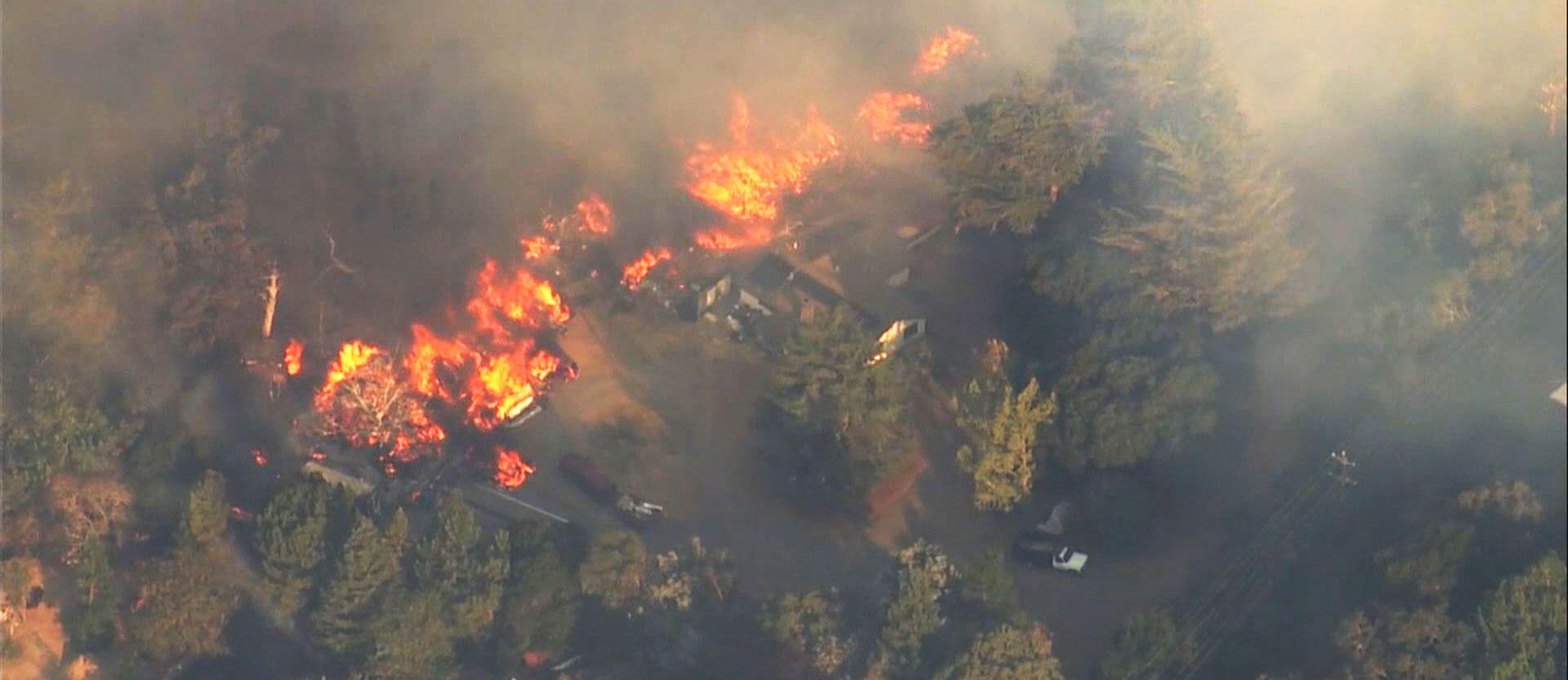 Napa California fires wildfire