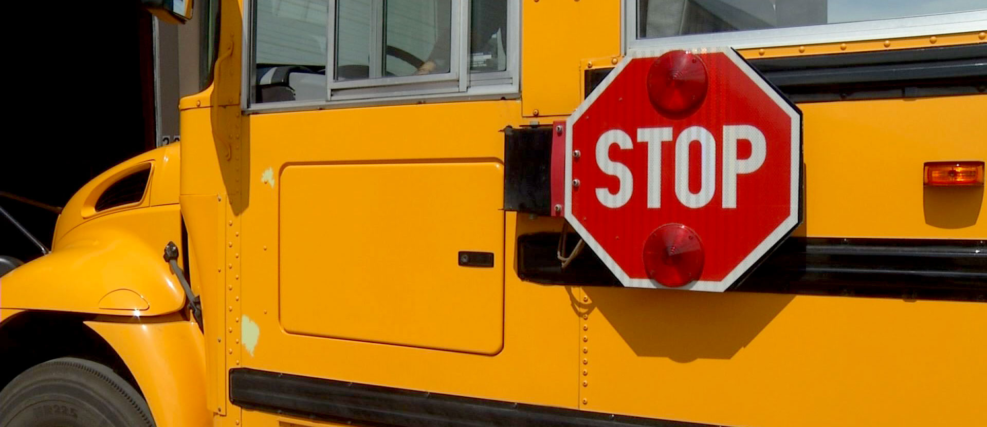 School bus Stop Arm safety