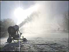 making snow on Great Bear