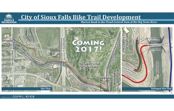 Bike Trail Development Sioux Falls