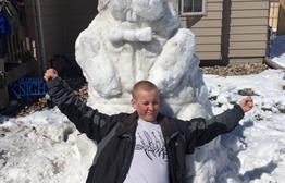 Easter Snow Fun In Sioux Falls