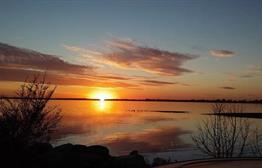 Sunset on Lake Kampeska