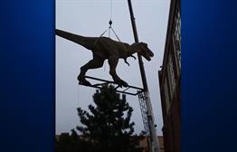 Children's Museum Welcomes New Dinosaur