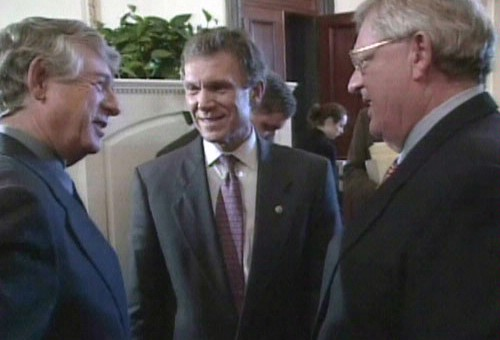 2002 On Capitol Hill With Sen. Tom Daschle
