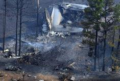 Six people were on the plane when it crashed