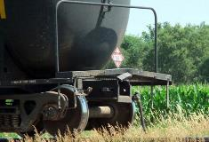 Cars with ethanol stayed on tracks