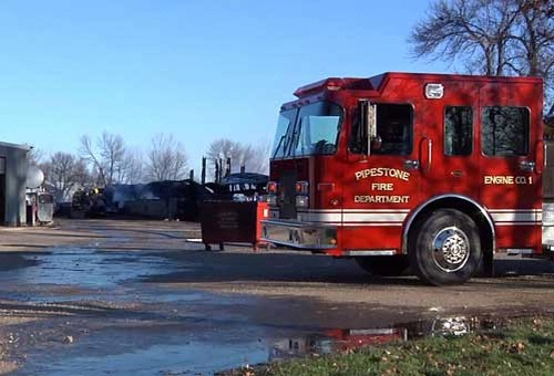 Fire crews fought fire, winds and explosions