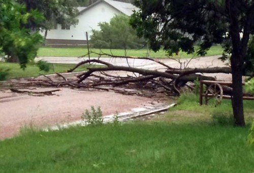 Wessington Springs Storm Damage