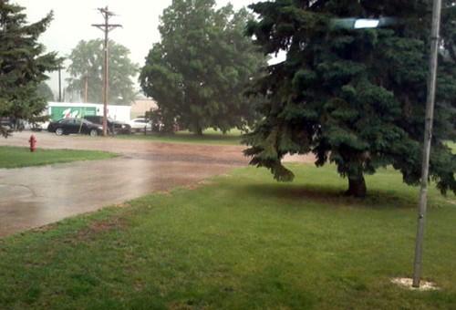 Storm near Howard