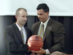 New SMSU basketball coach Brad Bigler
