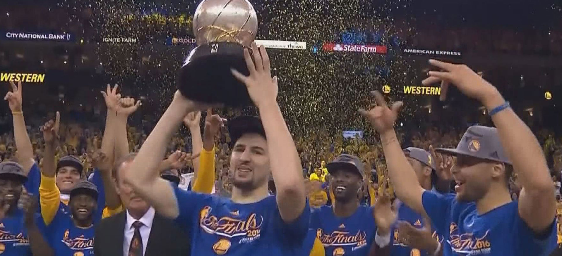 golden state warriors playoff history