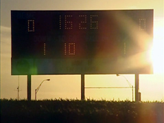 Scoreboard shot