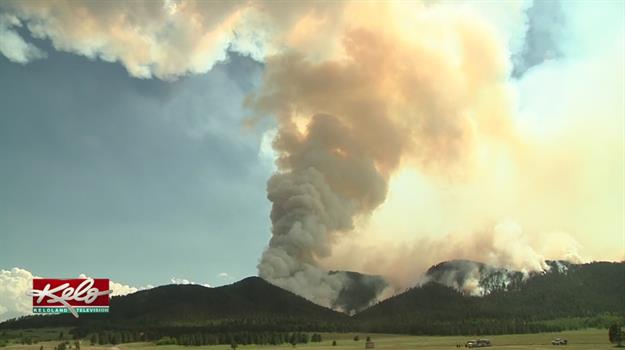 Crow Peak Fire Continue To Grow, More Resources Arrive