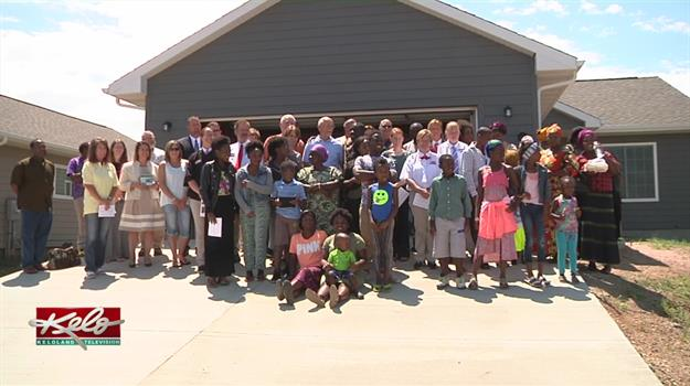 One Family Receives A New Home To Live In