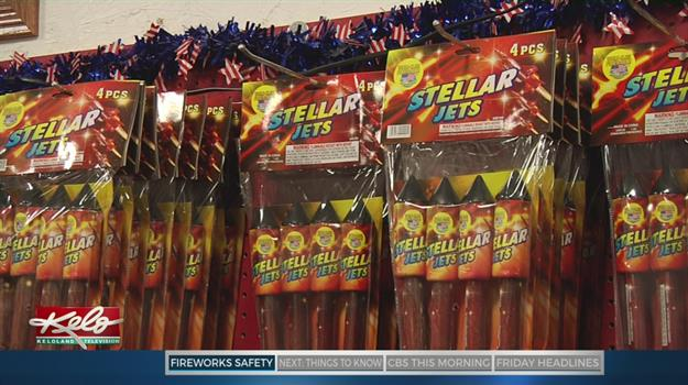 Firework Safety For The Holiday Weekend