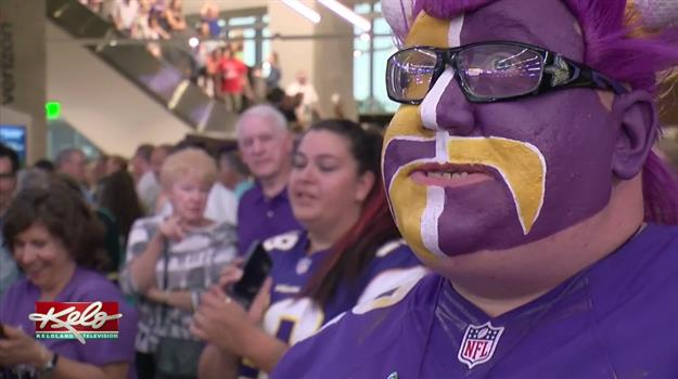 Fans Get First Look Inside U.S. Bank Stadium