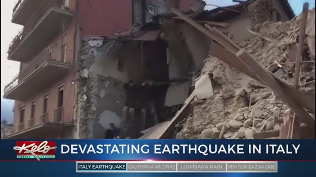 At Least 38 Dead As Strong Earthquake Rocks Central Italy