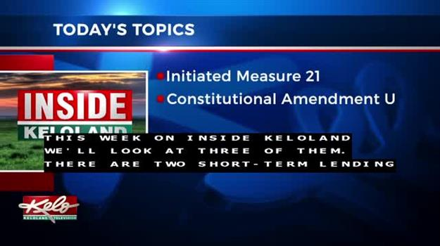 Inside KELOLAND: Initiated Measure 21, Amendment U, Amendment S