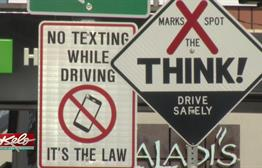 City Leaders Review Results of Distracted Driving Campaign