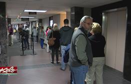 Long Lines To Beat Voter Registration Deadline