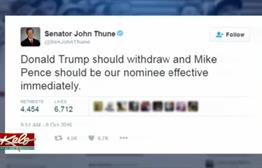 KELO-TV Poll: Senator Thune-Trump