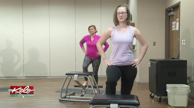 Chair Pilates Class Offers Resistance Training