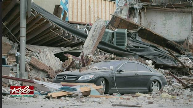 Witness Recalls Aftermath of Building Collapse In Downtown Sioux Falls