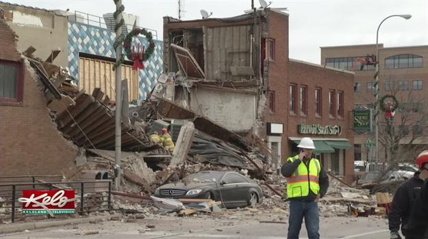 Building Collapse Affects Monday Commute