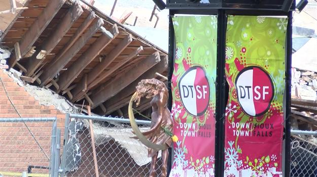 Open Businesses Struggling Following Building Collapse