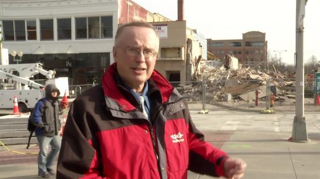 Downtown Building Collapse: One Week Later