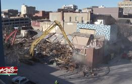 One Week Later: Downtown Building Collapse